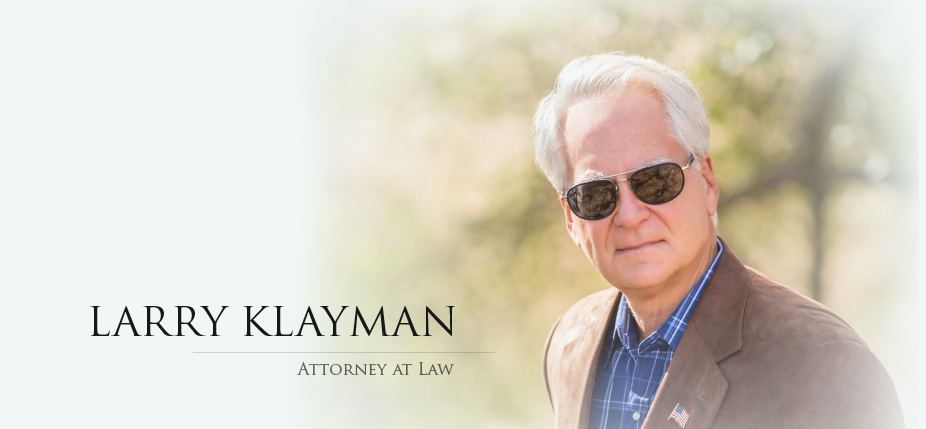 Larry Klayman, Attorney at Law